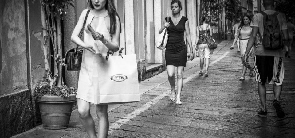 Bila till modestaden Milano